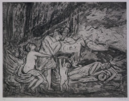 Cephalus and Aurora #2, 1998<BR>