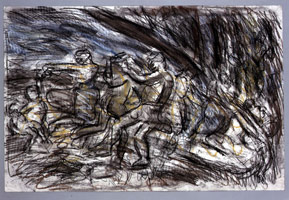 Bacchanal before a Herm #5, 1997<BR>