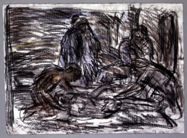 The Lamentation on the Dead Christ #2, 1997<BR>