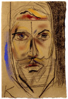 Young Mondrian (after his self portrait),