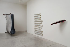 Installation photography<BR>Peter Shelton: eyehand: Selected sculpture from 1975 - 2011<BR>