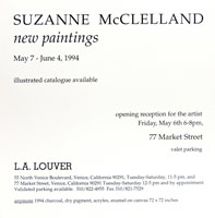 Suzanne McClelland announcement, 1994