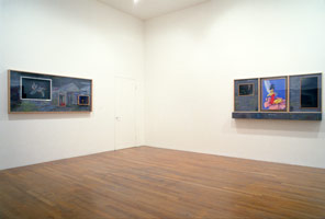 Terry Allen installation photography, 1988