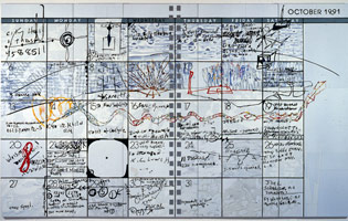 Calendar (#124-1992), 1992<BR>