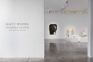 Installation photography, Matt Wedel: Everything is everything