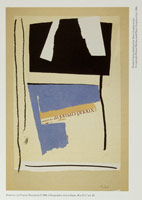 Robert Motherwell<BR>America, La France Variations: Lithographic Collages<BR> announcement