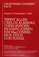 California Current: Part II announcement, 1983