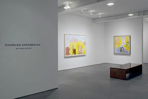 Installation photography, Charles Garabedian: Mythologies, Betty Cuningham Gallery