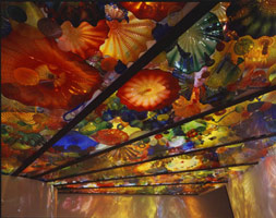 Pergola Ceiling Installation(detail), 1998<BR>