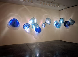 Persian Wall installation, 1998<BR>