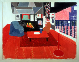 Studio. Hollywood Hills House, 1982<br>