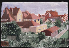 Bridlington. Gardens and Rooftops III, 2004<br>