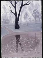 Rainy Morning. Holland Park, 2004<br>