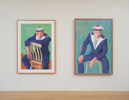 Installation photography, David Hockney, More Drawing in a Printing Machine, 8 April - 8 May 2010