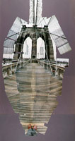 The Brooklyn Bridge, November 28th, New York, November 1982<BR>