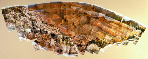 The Grand Canyon Looking North, Arizona, September 1982<BR>