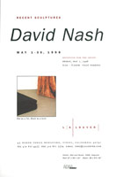 David Nash announcement, 1998