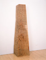 Crack and Warp Column, 1992<BR>