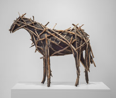 Deborah Butterfield<br> Horse number 4, 2014