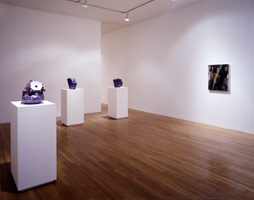 Ken Price and Ed Moses installation photography, 1994