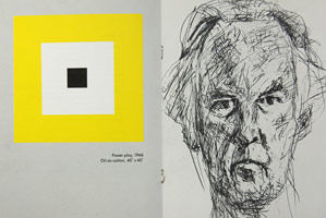 Frederick Hammersley announcement booklet, 1981