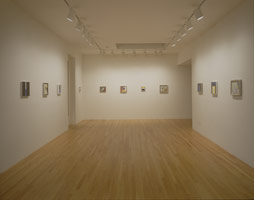 Frederick Hammersley installation photography, 1999