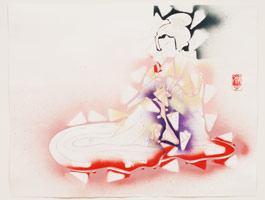 Study for the Mack (Geisha), 2006<br>