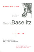 George Baselitz announcement, 1998