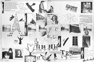 Visual Essay by Peter Goulds<BR>The Laica Journal<BR>L.A. Institute of Contemporary Art, January 1976