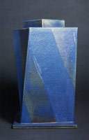 Stellar Blue Twisting Square, 1985<BR>