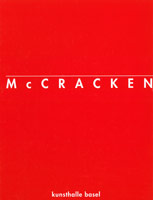 John McCracken exhibition catalogue, 1995