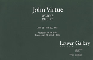 John Virtue announcement, 1992