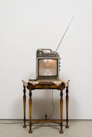 Edward & Nancy Reddin Kienholz / Queen Anne, 1980 / mixed media assemblage / 69 x 30 x 17 in. (175.3 x 76.2 x 43.2 cm)