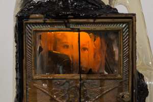 Edward & Nancy Reddin Kienholz / Surely Shirley (detail), 1992 / mixed media assemblage / 53 x 19 x 8 in. (134.6 x 48.3 x 20.3 cm)
