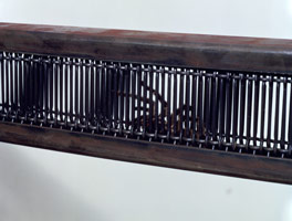 Fabrication of Virtue: Painting for Crickets and Three Tarantula (detail), 1988<br>