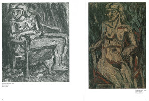 Exhibition catalogue<BR>Leon Kossoff: Recent Work, 1984