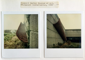 Loren Madsen<br>installation photography<br>Newport Harbor Museum of Art, 1980