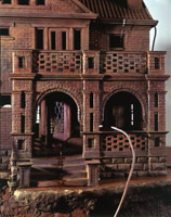 oldwetbrickhouse (detail), 1993<BR>