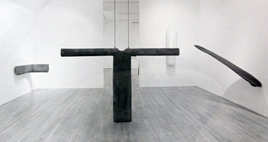Peter Shelton, Recent Sculptures<BR> installation photography, 1986