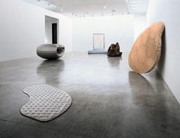 Richard Deacon installation photography, 1995