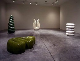 Richard Deacon installation photography, 2000
