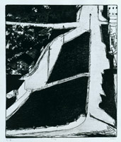 Richard Diebenkorn<BR>#33, 1965<BR>from 41 Etchings Drypoints<BR>17 3/4 x 11 3/4 in