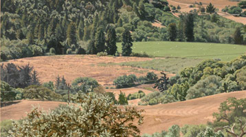 Valley View: Late Summer, 2005<br>