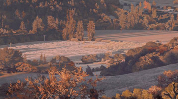 Valley View: Winter Frost, 2005<br>