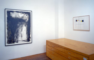 Sculptors' Drawings installation photography, 1990