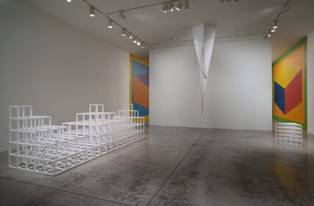 Installation photography, Sol LeWitt, Structures, Works on paper, Wall drawings 1971 - 2005