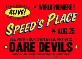 Speed's Place handbill