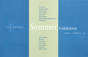Summer Exhibition announcement, 1995