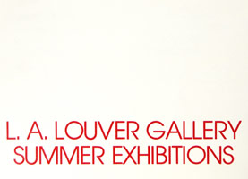 Summer Exhibition announcement, 1980