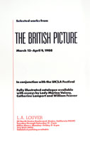The British Picture announcement, 1988